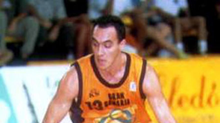 Racca, en su etapa como jugador del CB Gran Canaria. (EFE)