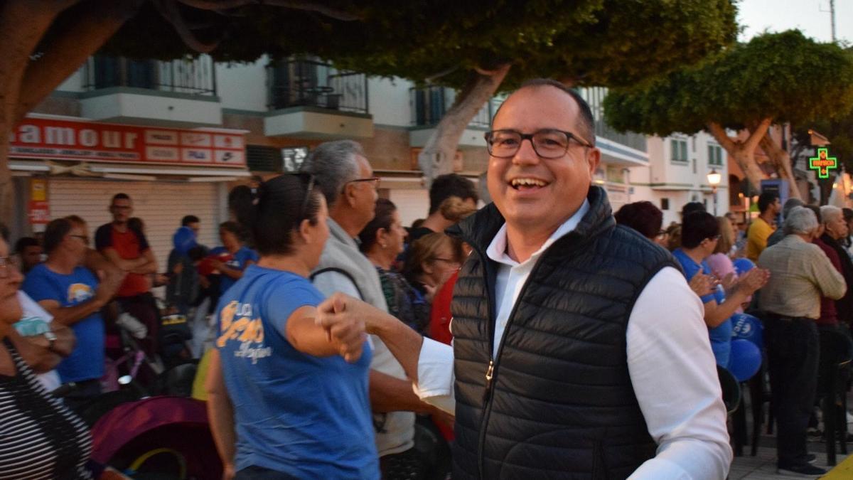 Raico Guerra, asesor de urbanismo de la alcaldesa de Mogán.