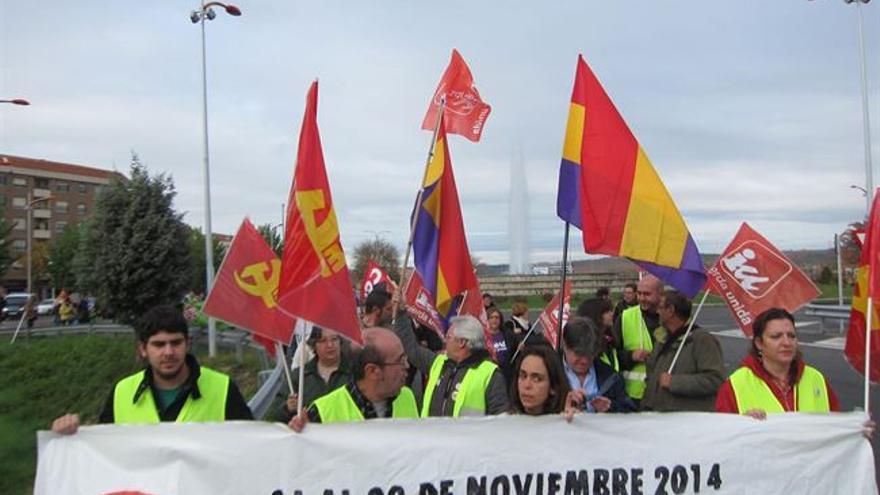 Manifestacion final de la Semana de la Dignidad, Toledo, 29/11/14 / Foto: Europa Press