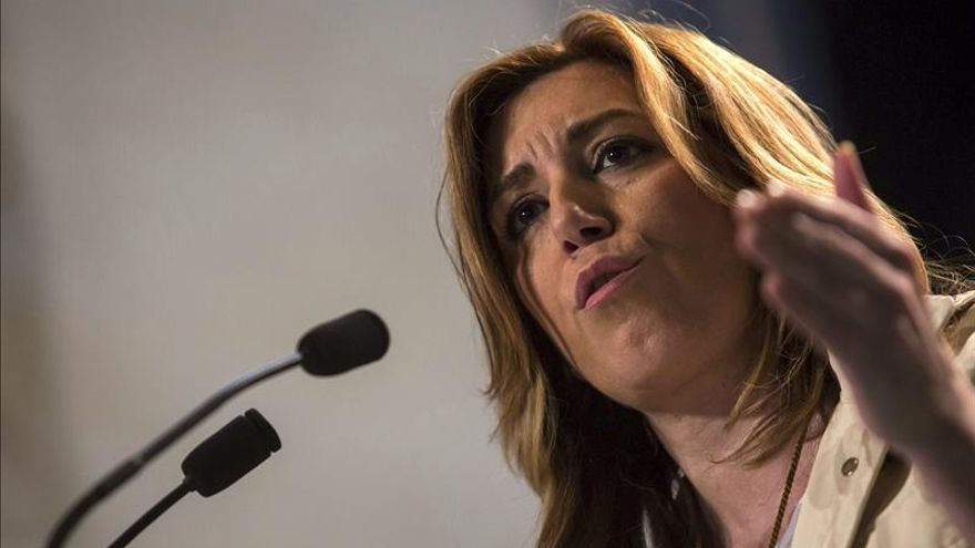 """Susana Díaz asegura que Andalucía """"no se va a subir al carro de los recortes"""""""