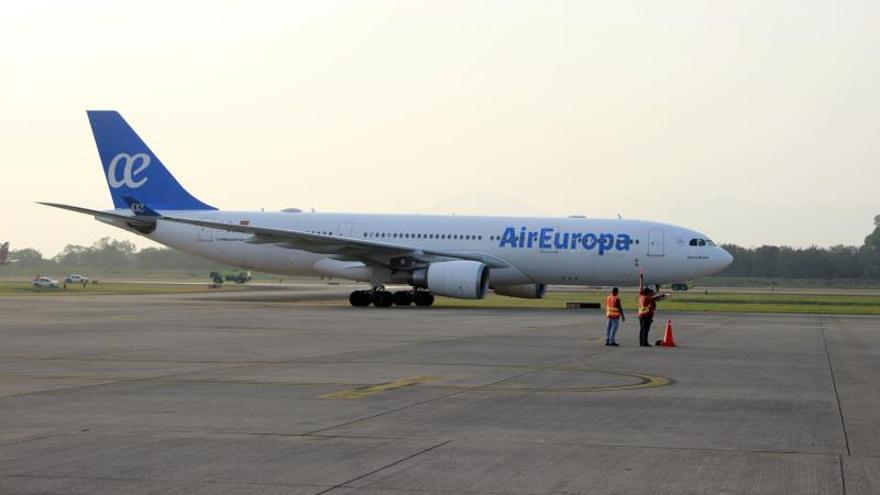 Un avión Airbus 330-200 de Air Europa