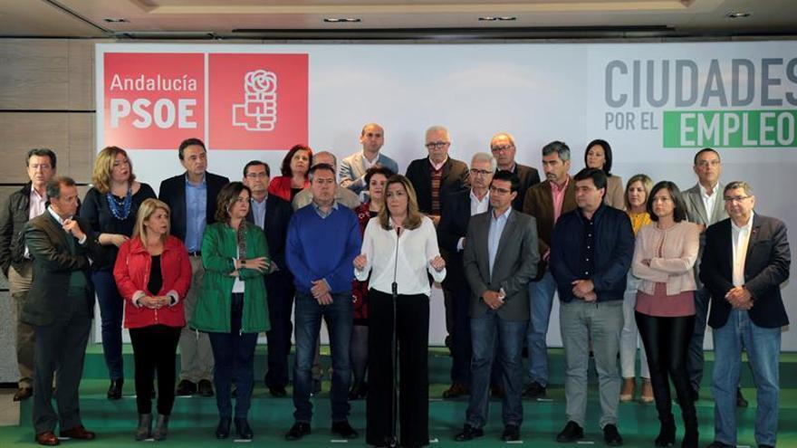 Díaz confía en la victoria del PSOE y afea los matrimonios de conveniencia de Podemos