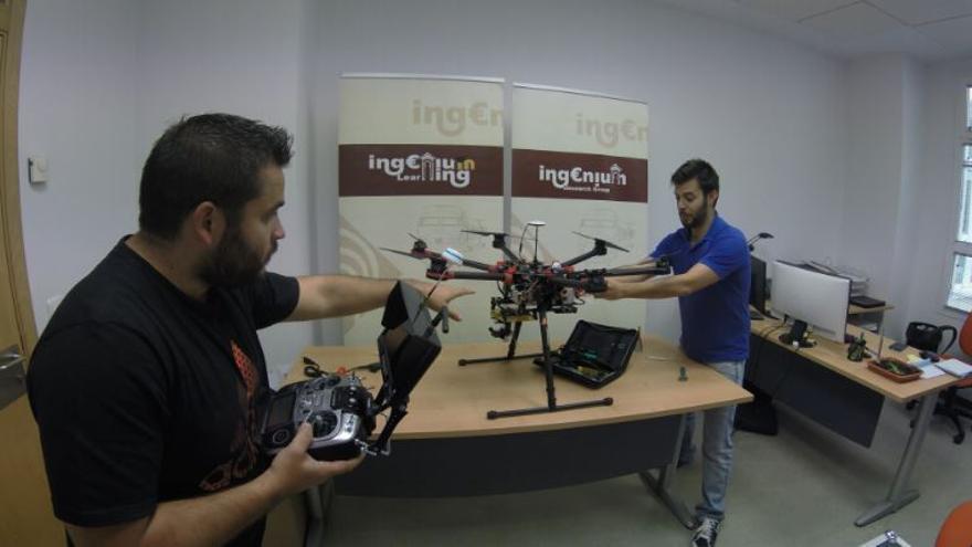 Air Ingenium trabajando con drones