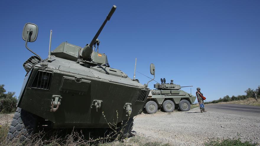 """El Regimiento de Caballería """"España"""" nº 11 desarrolla el ejercicio UCLES18 en la provincia de Huesca."""