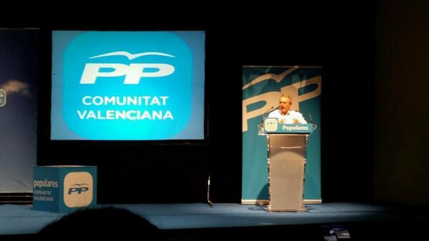 Alfonso Rus en un acto del PP.