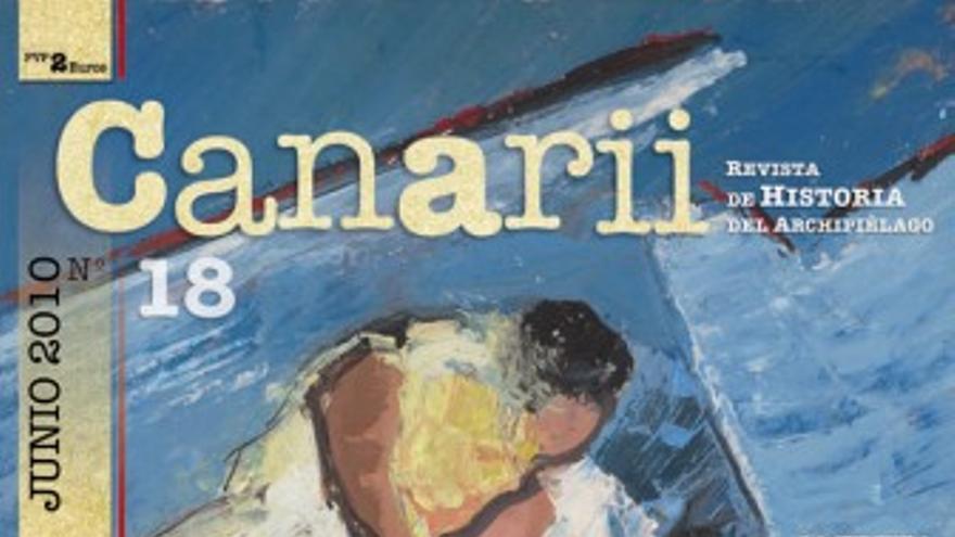 Portada del nuevo número de la revista 'Canarii'. (CANARIAS AHORA)