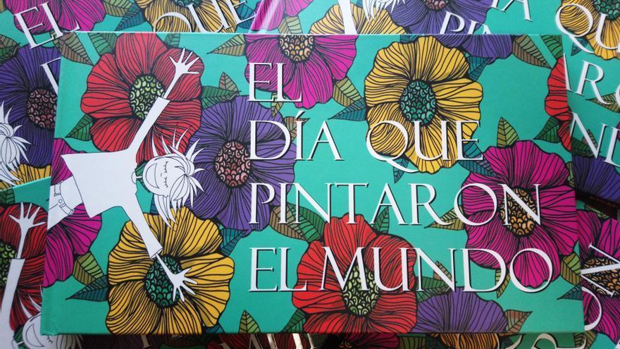 Alberto Gallo y Almudena Báscones presentan en el Impluvium su libro 'El día que pintaron el mundo'