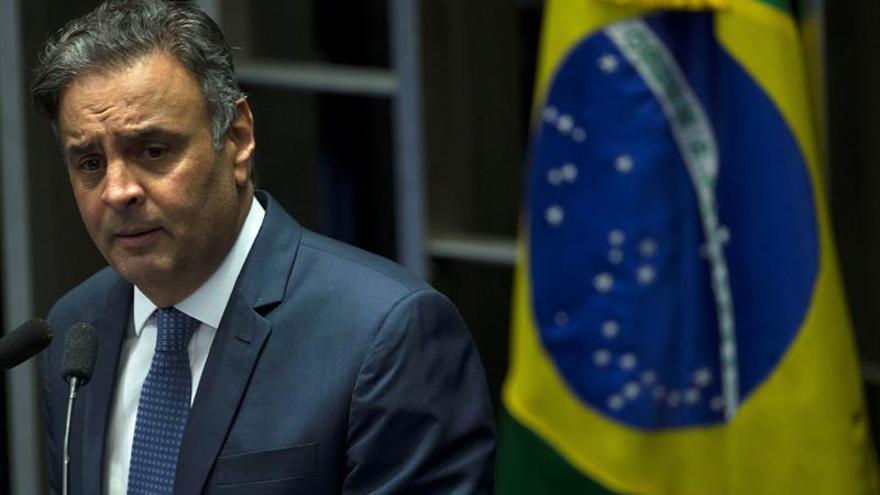 El Supremo brasileño suspende el mandato del senador y exlíder opositor Aécio Neves