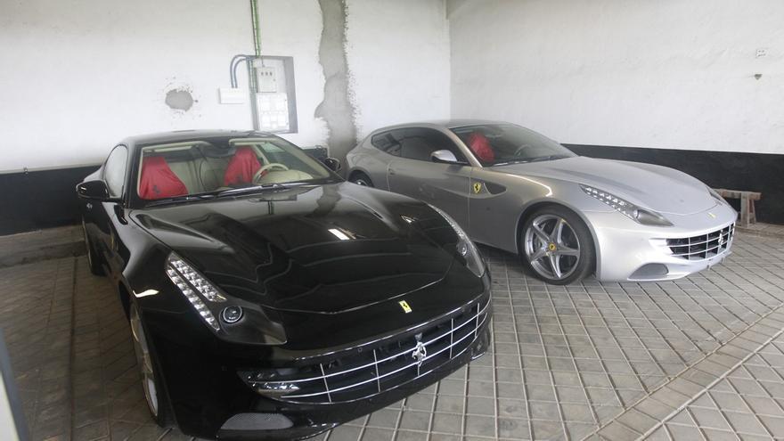 El Estado adjudica los dos Ferrari donados por el Rey Juan Carlos por 443.000 euros
