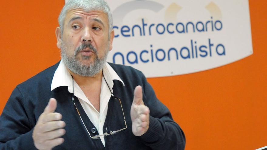 Pedro Medina, portavoz del CCN en el Cabildo Insular