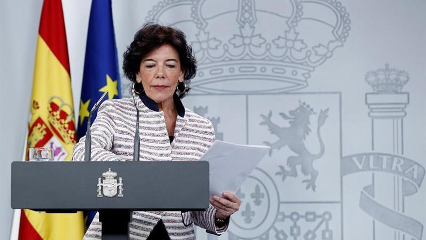 El Gobierno rechaza el ultimátum de Torra y le pide distensión y calma