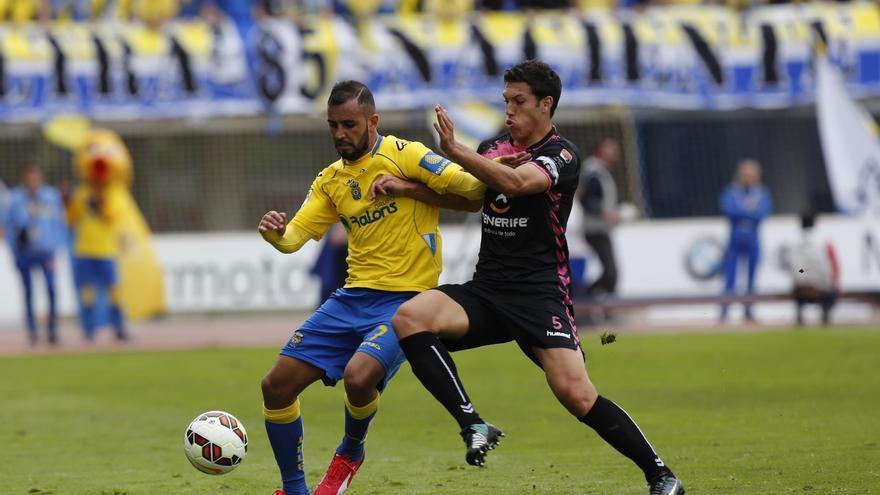 Lance del partido entre la UD Las Palmas y el CD Tenerife. (WWW.UDLASPALMAS.ES)