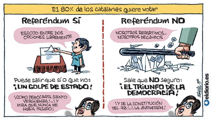 Resultado de imagen de referendum catalán No en el meu nom!