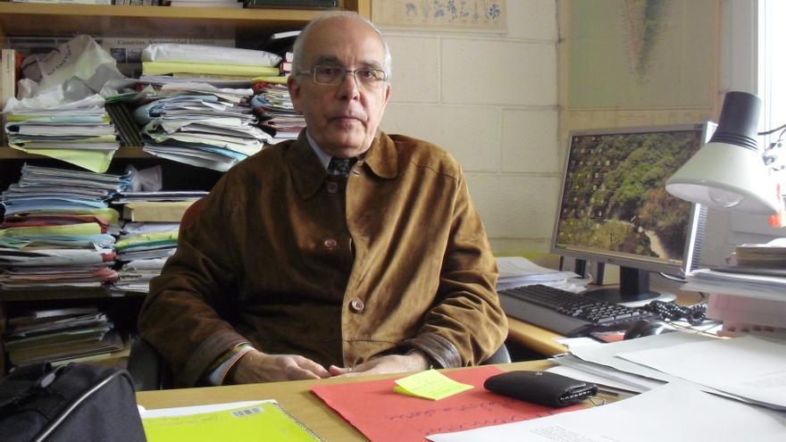 Jose Manuel Méndez Pérez es matemático y presidente de la Real Academia Canaria de Ciencias.