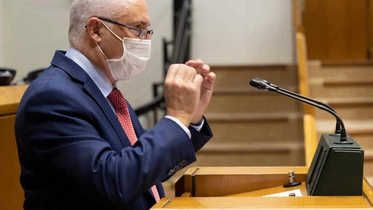 José Manuel Gil, líder de Ciudadanos en Euskadi y parlamentario de PP+Cs