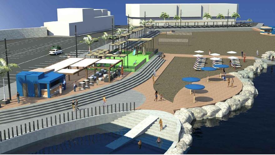 Proyecto de rehabilitación de la playa de El Perchel