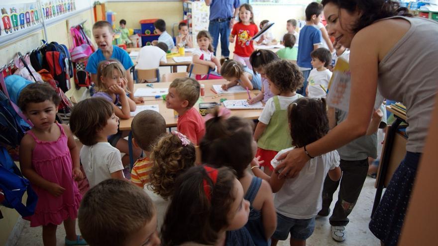 Inicio del curso escolar en una escuela infantil./ Europa Press