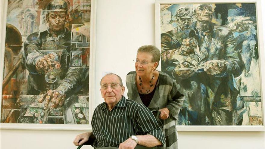 Falleció Willi Sitte, el pintor del Politburo de la Alemania comunista