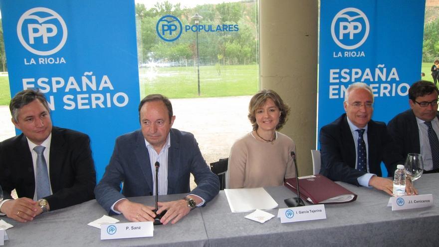 Tejerina remite a la situación dramática de Grecia y Venezuela al ser preguntada por la coalición Podemos-IU