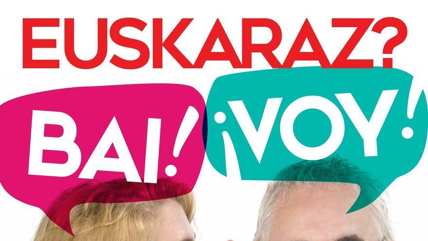 El Gobierno navarro lanza una campaña de fomento del aprendizaje de euskera de personas adultas