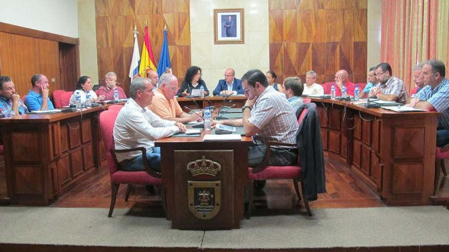 En la imagen, reunión del Consorcio Insular de Servicios.
