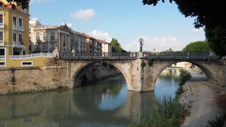 El Puente Viejo en la ciudad de Murcia ha sido declarado Bien de Interés Cultural