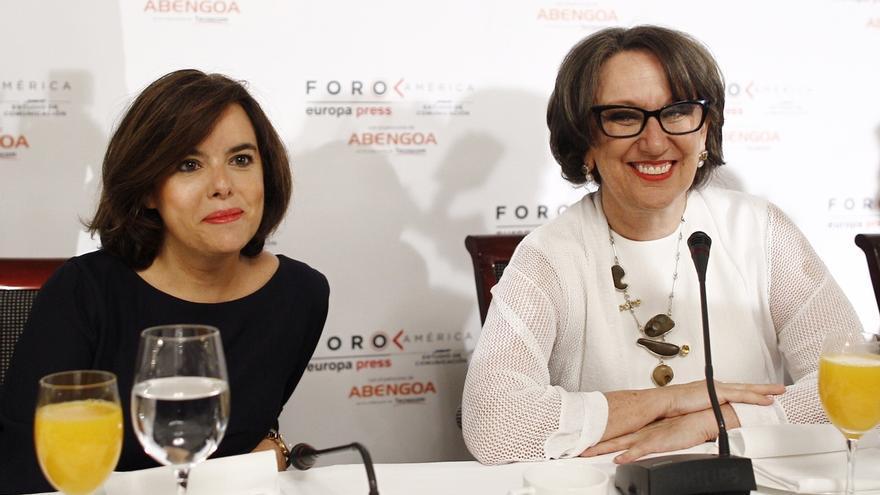 """Santamaría dice que Rajoy busca un gobierno de """"amplia mayoría"""" y que hay un programa """"muy amplio"""" sobre el que negociar"""