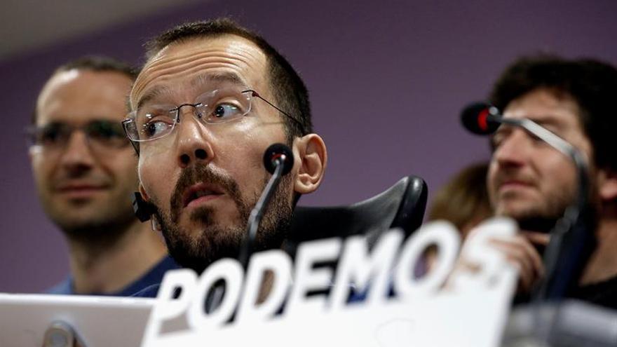 El futuro secretario de Organización de Podemos, Pablo Echenique.