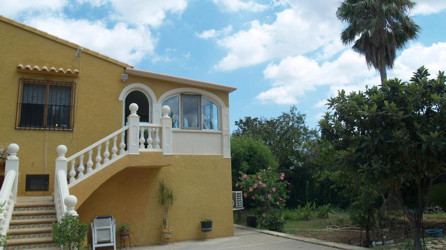La casa de Beniarbeig, sede de la Fundación Rafael Chirbes