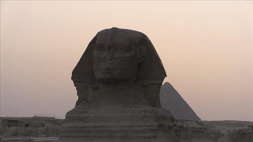La esfinge y la pirámide de Micerino vuelven a mostrar sus encantos
