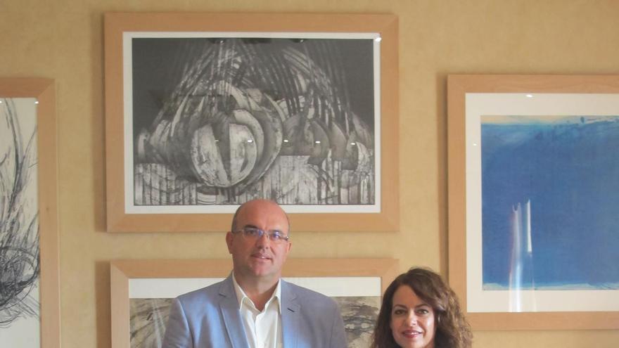 Anselmo Pestana y Tamara.