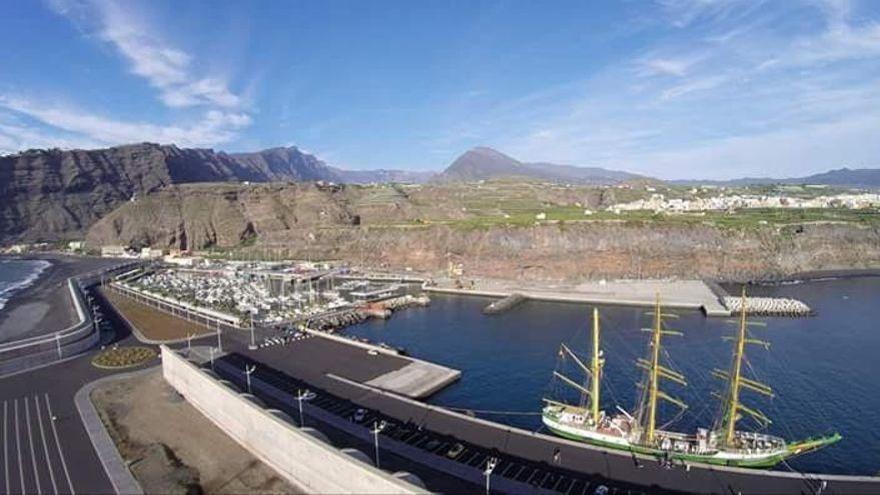 Imagen de archivo del Puerto de Tazacorte, en la comarca oeste de La Palma.