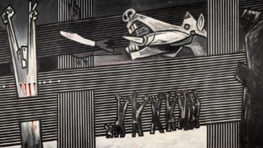 """Una versión del """"Guernica"""" de Agustín Ibarrola se mostrará en ARCO"""