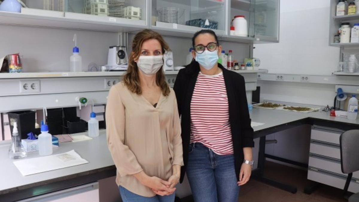 Las investigadoras María Ángeles Castillejo y Lola Rey.