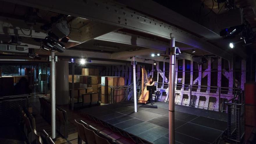 El emblemático velero Cutty Sark se transforma en un teatro en Londres