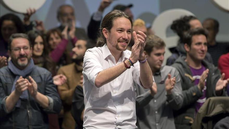 Iglesias augura un escenario para las generales con dos opciones, PP o Podemos