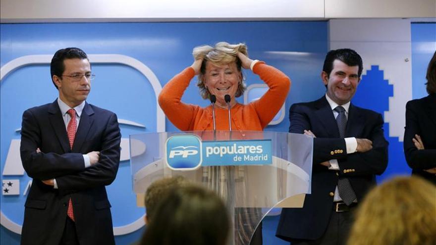 Aguirre exige regenerar la política para acabar con el ambiente de corrupción
