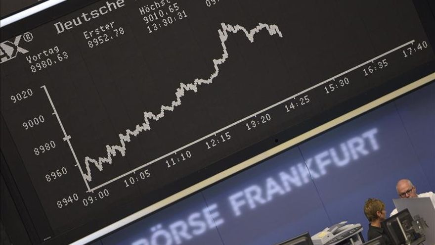 El DAX 30 alemán sube en la apertura un 0,06 por ciento, hasta los 9.512,10 puntos