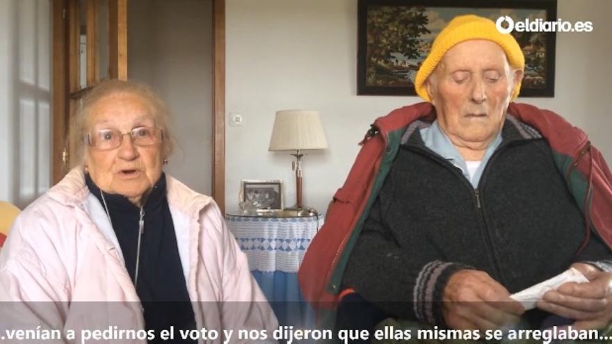 Felisenda y Sergio explican las maniobras del PP para hacerse con los votos de ancianos