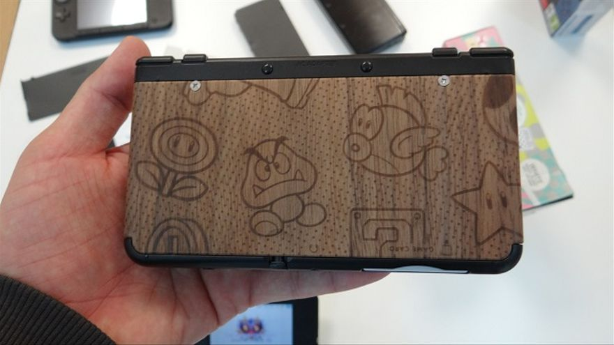 New Nintendo 3DS carcasas