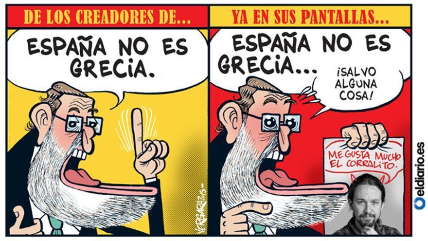 España no es Grecia