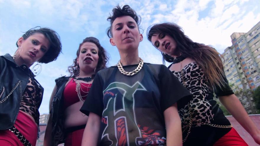 Las reggaetoneras Chocolate Remix, invitadas en el Matadero de Madrid