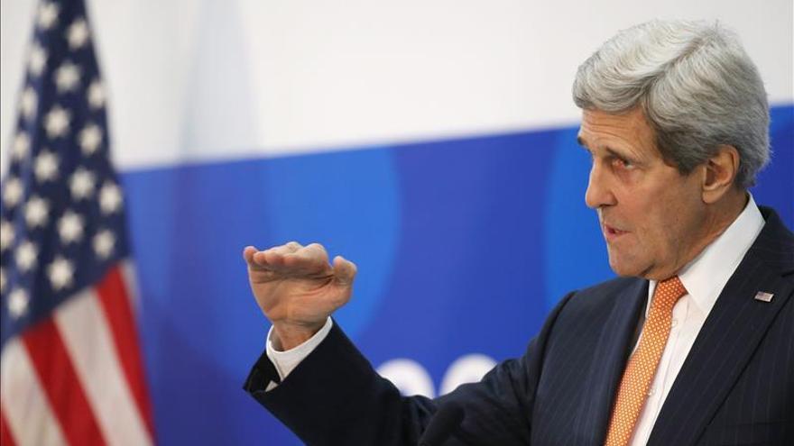 Kerry dice que la decisiones de Rusia determinarán lo que ocurra con las sanciones