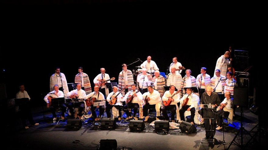 Tajadre en el concierto ofrecido este viernes en el Teatro Circo de Marte. Foto: JOSÉ AYUT.