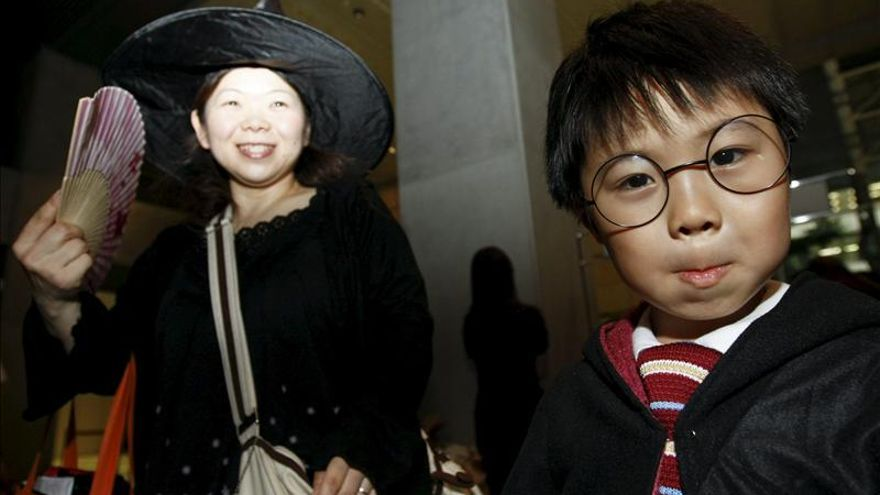 El universo de Harry Potter embruja la Torre Mori de Tokio