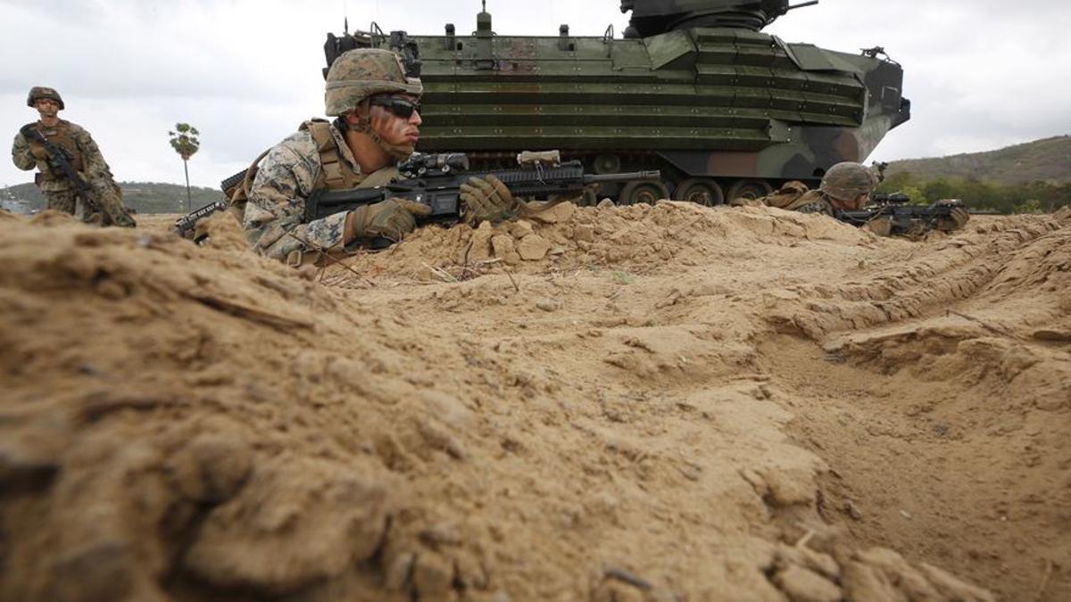 Maniobras militares estadounidenses