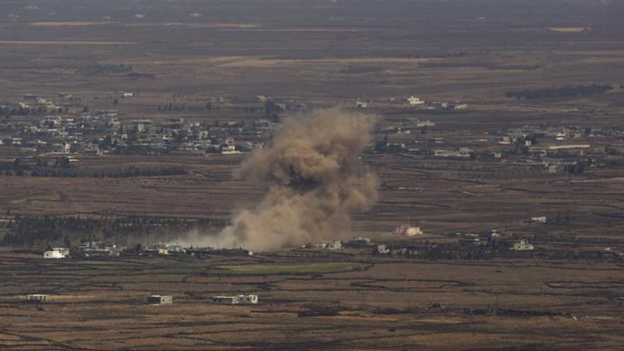 Tropas sirias combaten a milicias apoyadas por EE.UU. tras derribar un avión
