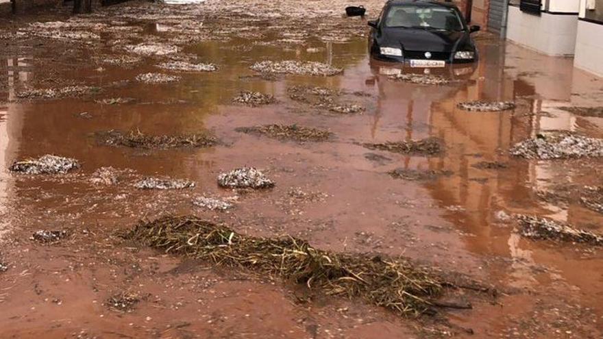 Inundación en Ossa de Montiel (Albacete)