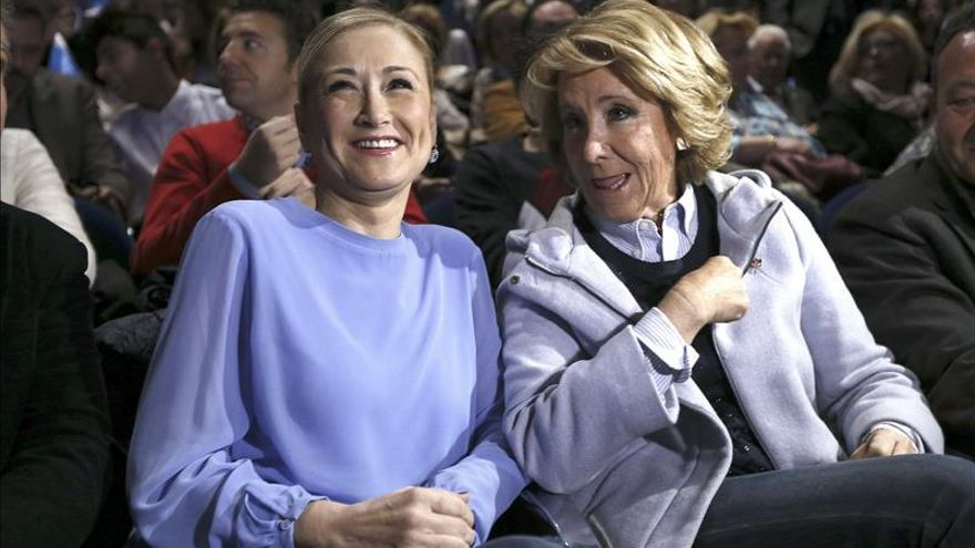Floriano asegura que Aguirre y Cifuentes son las mejores candidatas para Madrid