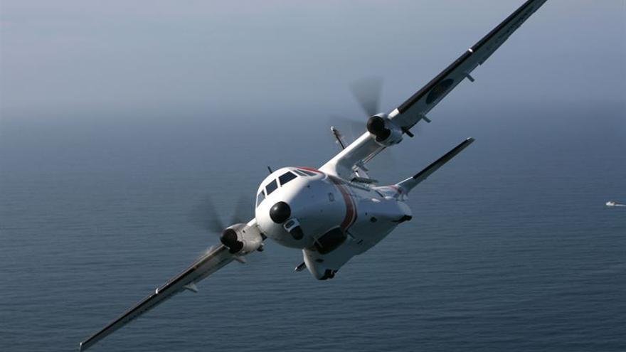 Avión Salvamento Marítimo. FOTO: Europa Press.